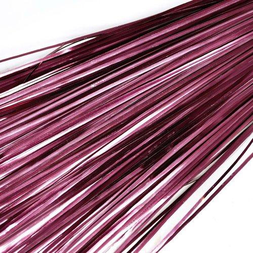 10g 60pcs vin rouge plat de bande de cuivre à la main broderie français du fil métallique orfèvrerie sku-133579