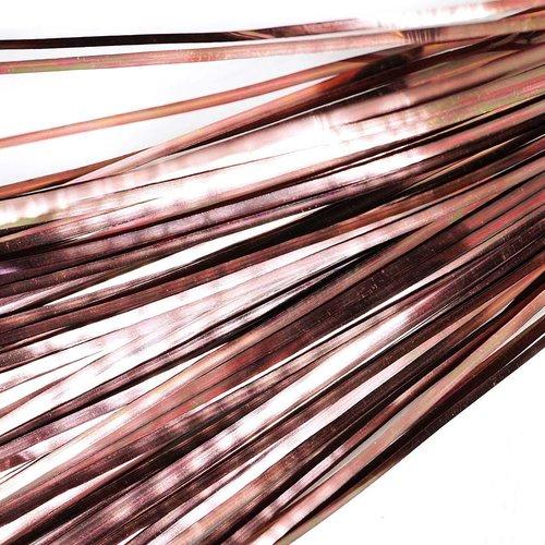 10g 35pcs bronze plat de bande de cuivre à la main broderie français du fil métallique orfèvrerie lu sku-133581