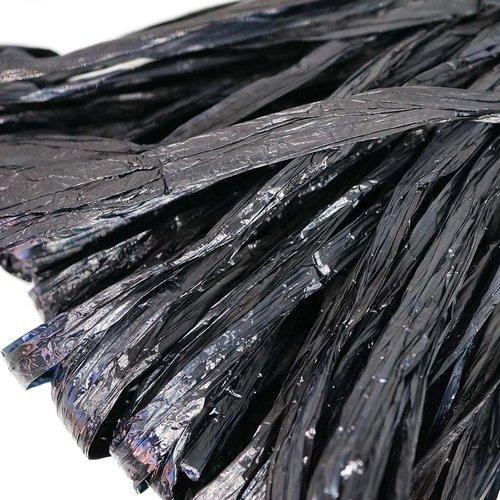 5m black pearl plat raphia bande en nylon de broderie à la main en fil d'orfèvrerie luneville tambou sku-133589