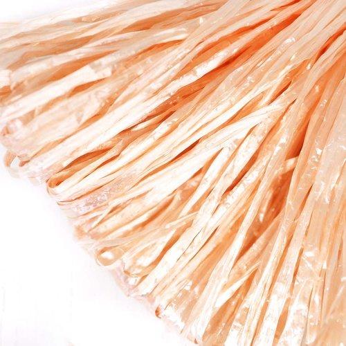 5m de pêche perle rouge plat de raphia bande en nylon de broderie à la main en fil d'orfèvrerie lune sku-133602