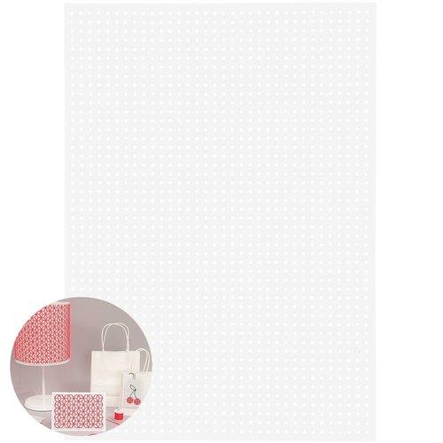 10pcs blanc broderie conseil d'administration de couture manuel de point de croix de à la main décor sku-133009