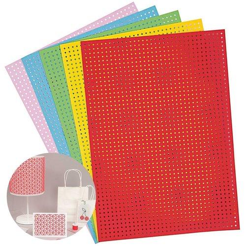 10pcs mélange multicolore blanc broderie conseil d'administration de couture manuel de point de croi sku-133011