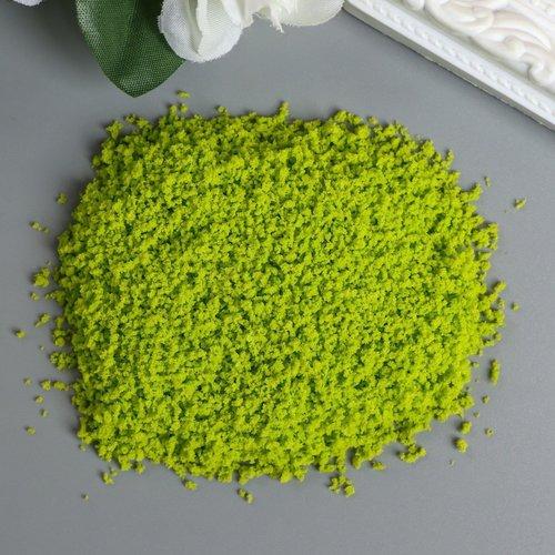Jaune vert de l'herbe de la mousse de poudre de fées décor de jardin maison de poupée d'arbres 12 éc sku-254060