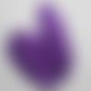 Plumes d'autruche 15/20cm violet foncé 30pcs