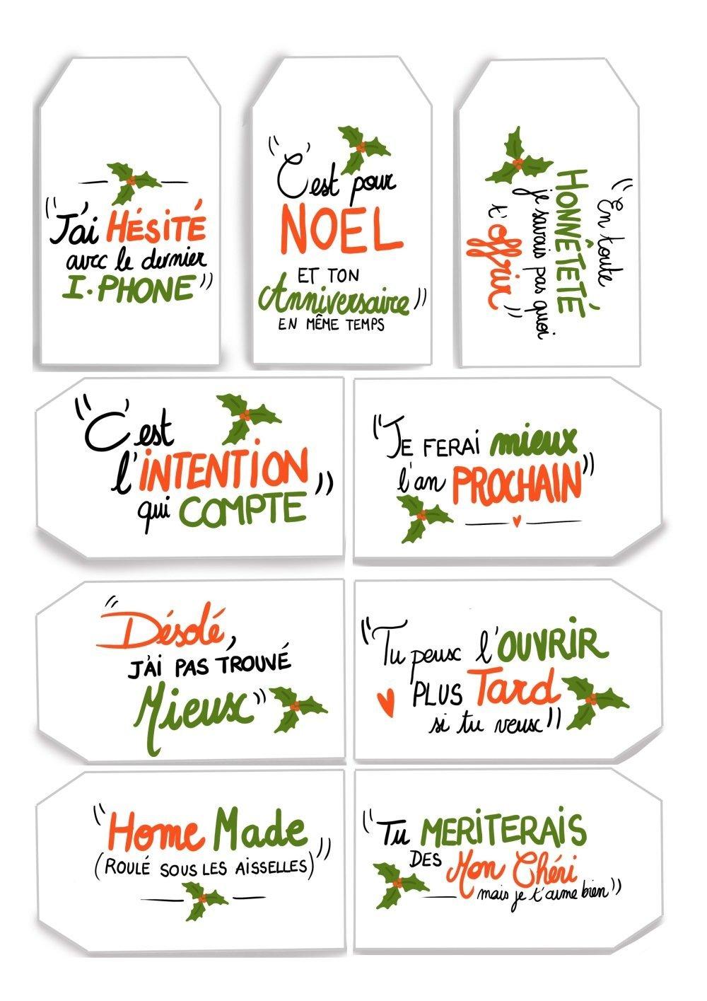 PDF etiquettes Noel cynique