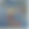 Serviette papier motif géométriques azulejos - carreaux de ciment - carrelage