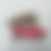 Serviette en papier motif de noël -  xmas car - mini voiture rouge transportant sapin décoré