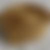Sangle polypropylène 5 mètres 25mm largeur pour sacs à dos bagages sacs à main couture créations accessoires doré
