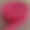 Sangle polypropylène 5 mètres rose bonbon 25mm largeur pour sacs à dos bagages sacs à main poignets couture créations accessoires ruban