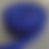 Sangle polypropylène 5 mètres bleu roi 25mm largeur pour sacs à dos bagages sacs à main poignets couture créations accessoires ruban