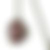 Collier motif multicolore, motif indien, pendentif multicolore, colllier paisley, inde