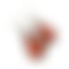 Boucles d'oreilles bollywood, boucles gouttes, motifs indiens, paisley, arabesques,