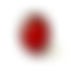 Bague bordeau, bijoux bordeau, rouge, minimaliste