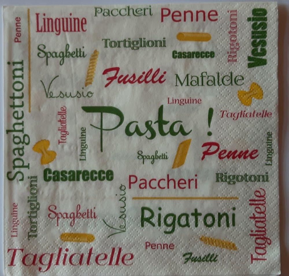 """Serviette en papier """"Pasta"""""""