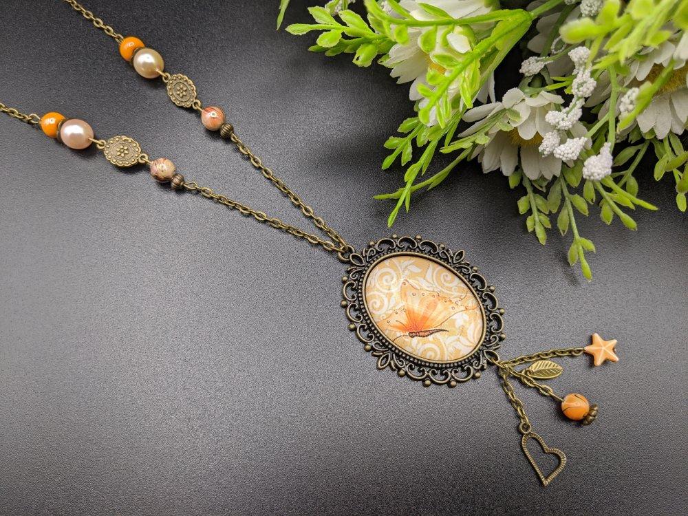 collier femme vintage