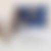Housse de coussin personnalisable / prénom brodé à la main/ cadeau de naissance