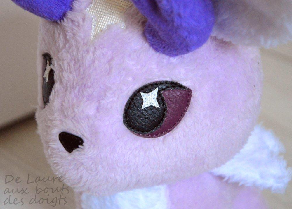 VENDUE PELUCHE DE DECORATION Celestial Hare Lièvre