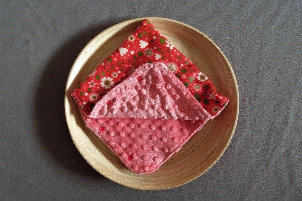 Manchon de poussette imperméable et chaud à fleurs roses