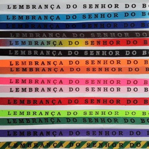 """Bracelet brésilien """"bon fim"""" ruban multicolore 40 cm porte bonheur de salvador de bahia du brésil, unisexe adultes et enfants"""