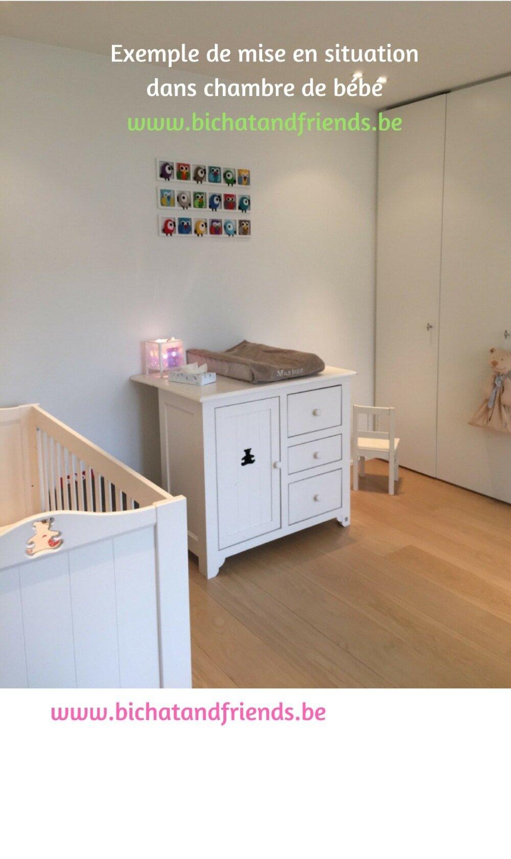 Décoration chambre enfant et bébé originale.theme les sirenes et la mer.