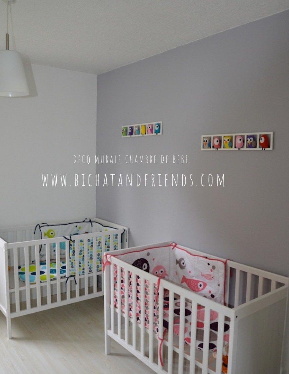 Deco Chambre Bebe Fille décoration murale chambre bébé fille, animaux des bois , tons rose beige  taupe.