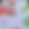 Coupon de tissu fantaisie imprimé - flamand rose
