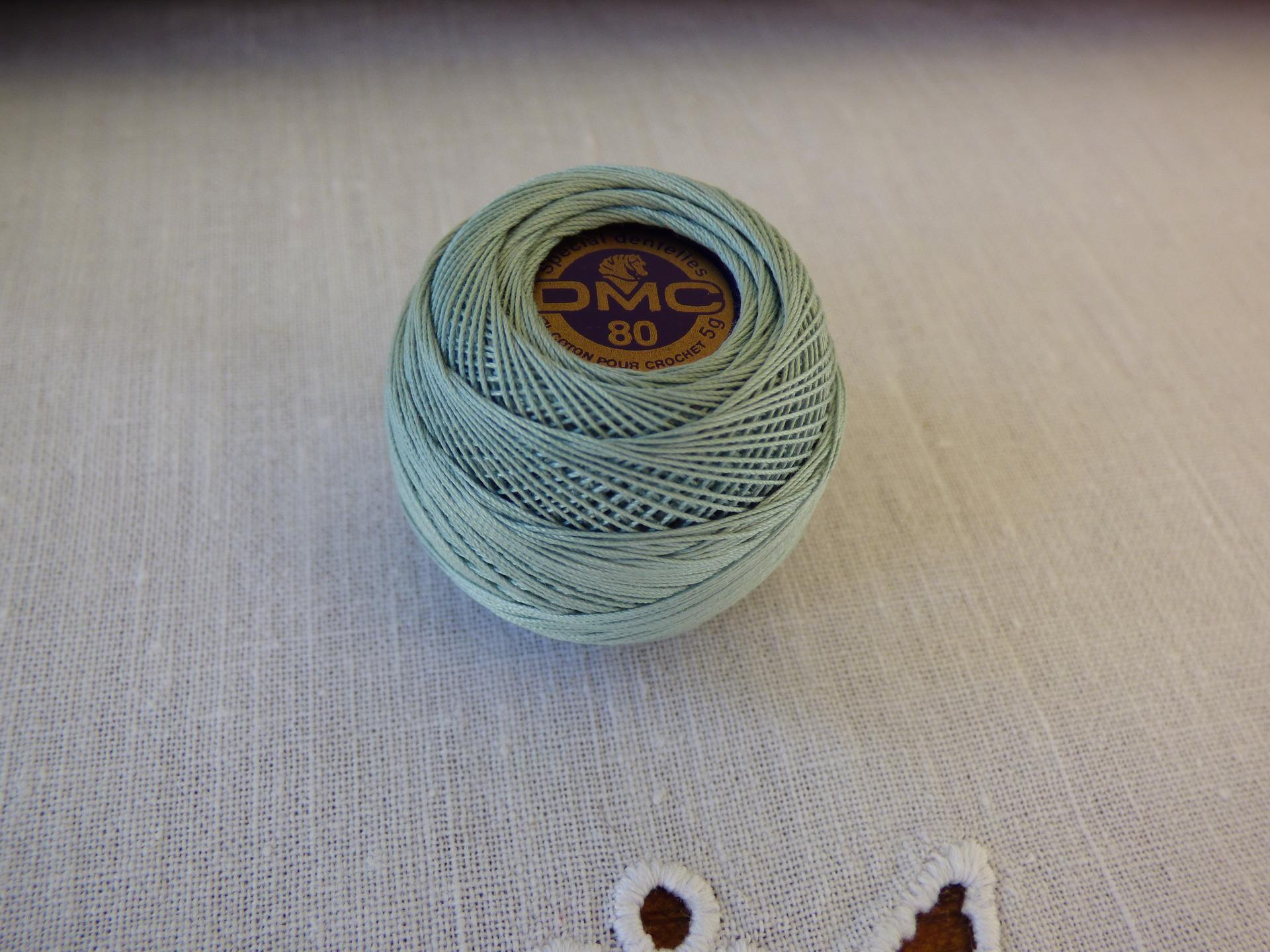 Coton dentelle  DMC  n°80  n°927
