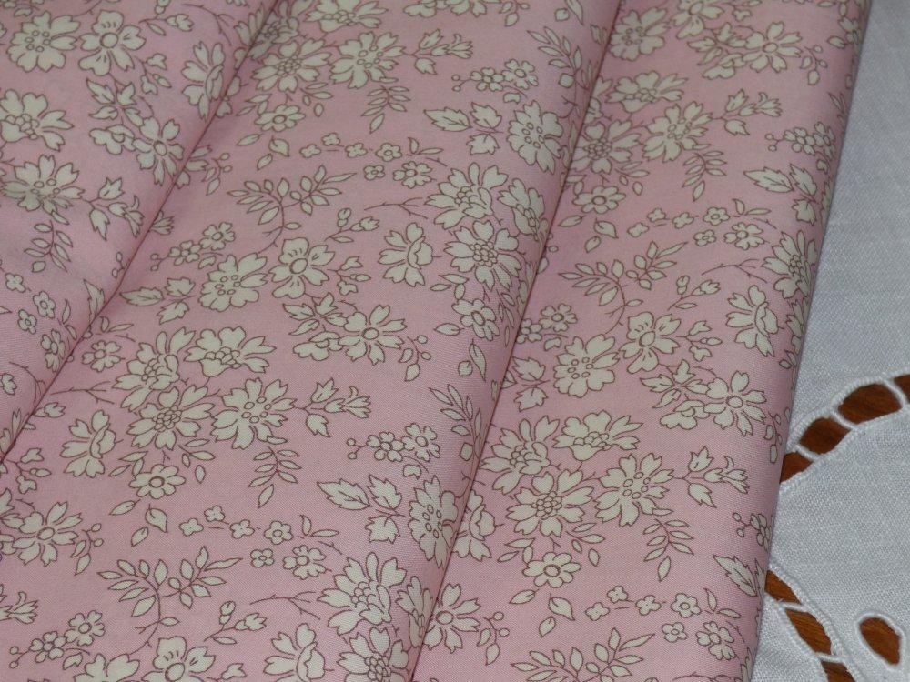 Coupon de tissus liberty capel rose