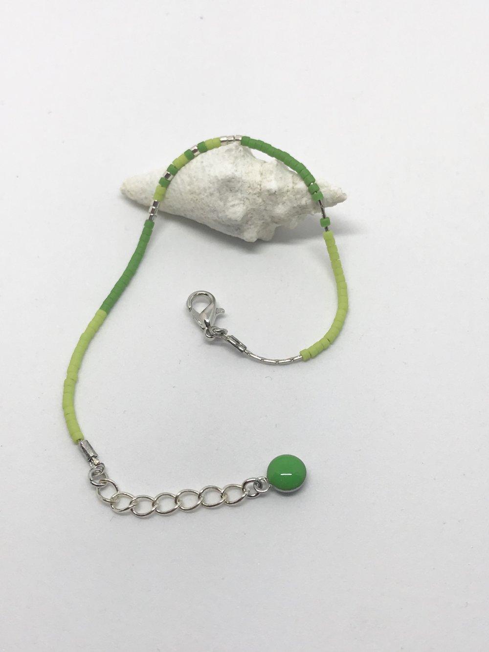 Bracelet simple ALLTIME - tons vert