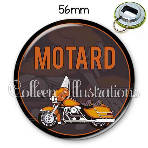 Décapsuleur porte-clés 56mm Motard 032MAR03