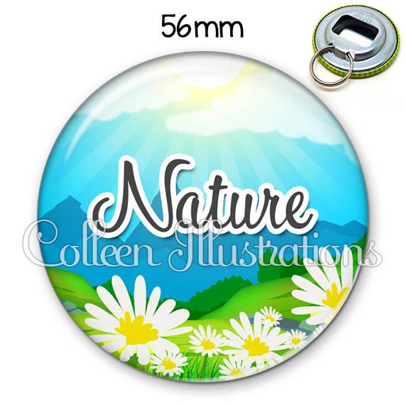 Décapsuleur porte-clés 56mm Nature 145MUL01
