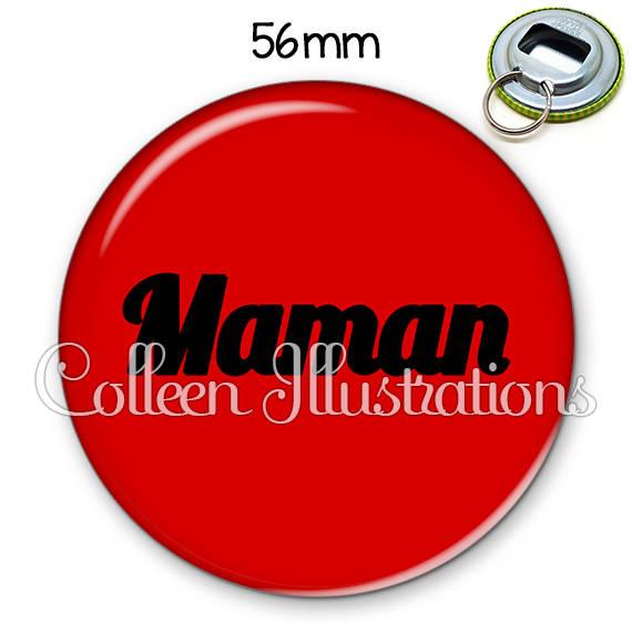Décapsuleur porte-clés 56mm Maman 181ROU01