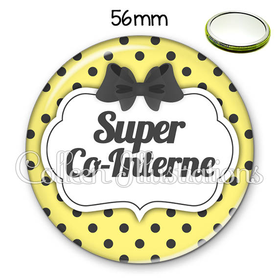 Miroir 56mm Super co-interne 006JAU01