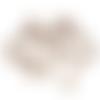 20 fermoirs mousquetons 12 mm cuivre