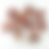 10 perles nacre coquillage palet 1814 mm fleuri