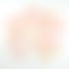 Lot de 6 perles palets nacre coquillage ovale 35x24 mm
