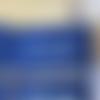 "Pochette zippée bleu marine ""mes indispensables"""