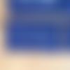 "Pochette zippée bleu marine ""trucs et muches"""