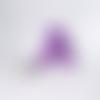 Doudou méduse violet