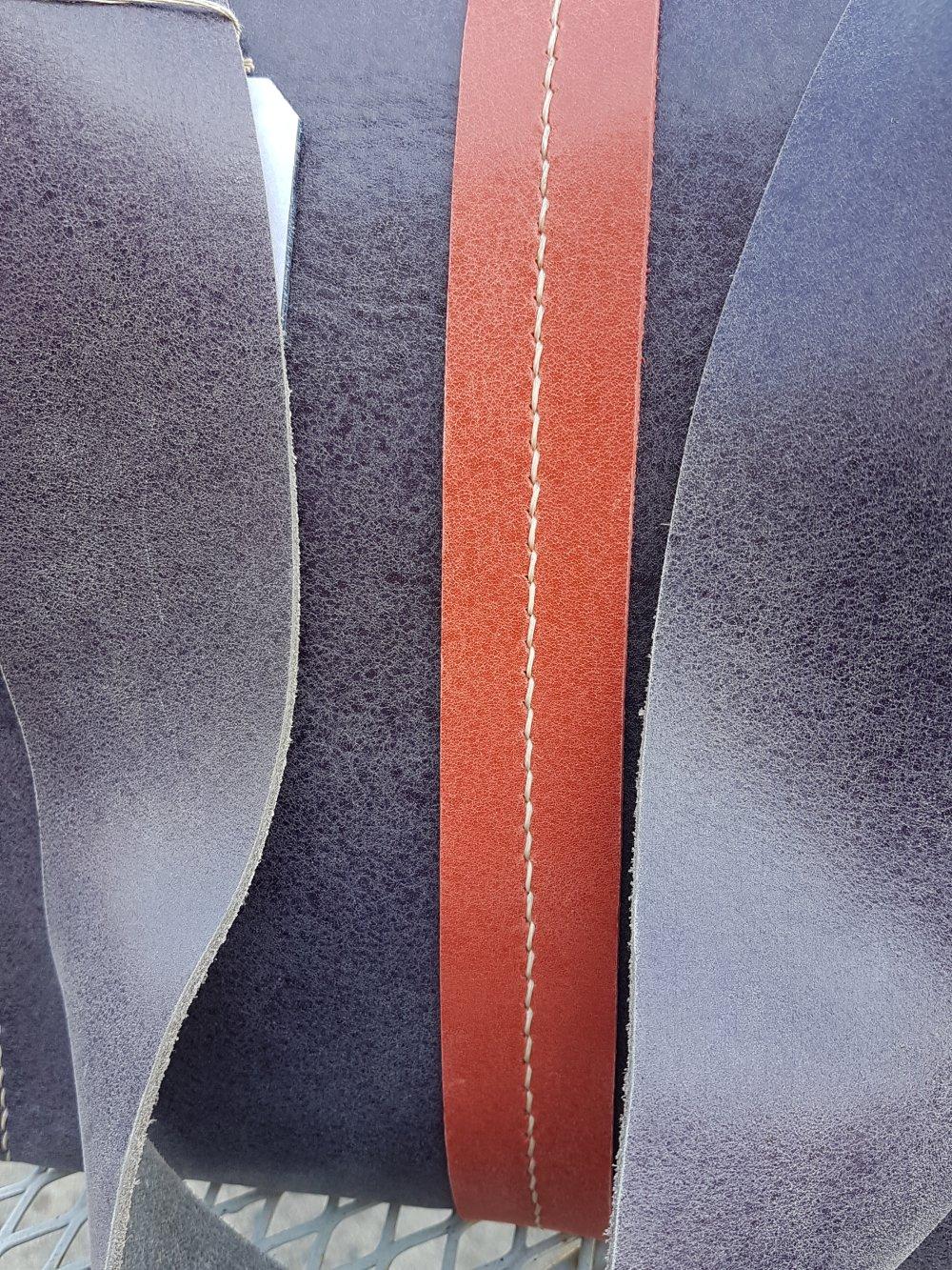 sac cuir rouge/rose et aubergine clair bandoulière