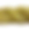 Péridot - perles rondes de 8 mm - lot de 48 perles - pierre naturelle - a449