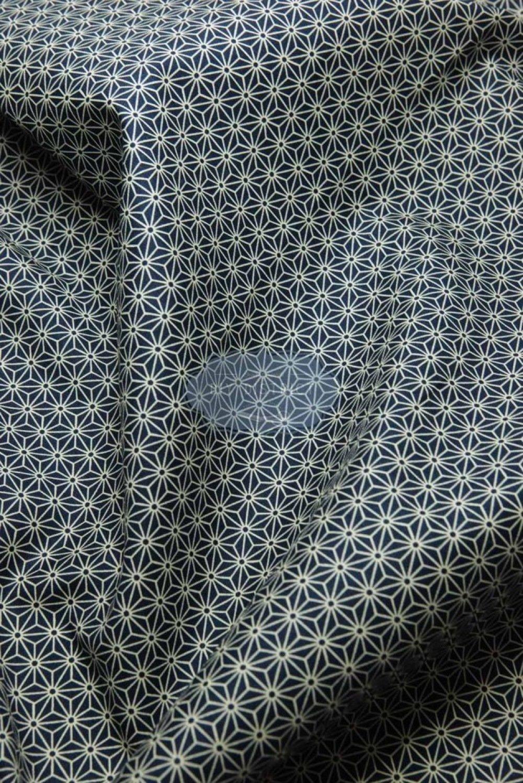 Tissu Japonais Asanoha traditionnel