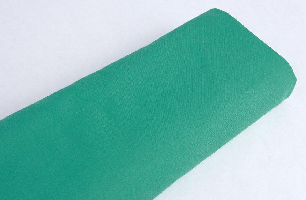 Coton Japonais vert uni