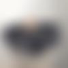 grand snood col écharpe femme - fait  main - coloris gris - très doux et chaud en mohair