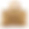 Cabas de plage  en raphia de cellulose, coloris beige