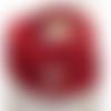 Snood  col écharpe fillette, coloris rouge