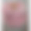 snood  col écharpe fillette, coloris rose