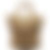 Cabas de plage  en raphia beige sable avec bandoulière, raphia de cellulose