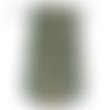 Bobine cordon viscose, effet fourrure , mix vert eau bleu - réalisation de sacs, pochettes, cabas, éponges tawashi