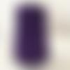 Bobine cordon viscose,  violet - réalisation de sacs, pochettes, cabas